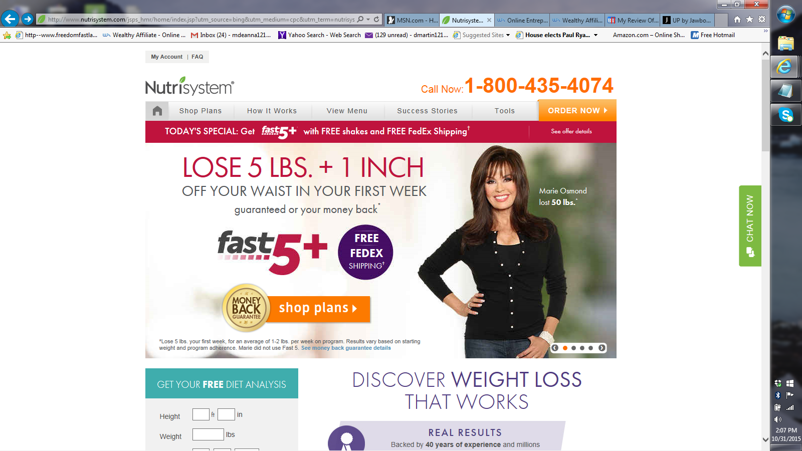 Nutrisystems Review