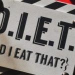 sigh that says DIET